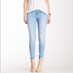 MOTHER The Looker Skinny Jeans in Hearts at Risk